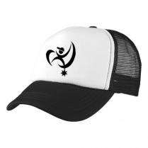 2-3XL Black / White Trucker Cap - Branded with BAH Logo