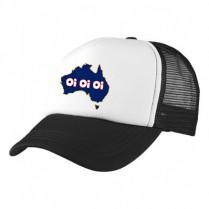 2-3XL Black / White Trucker Cap with Beer Logo (Oi Oi Oi)