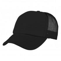 2-3XL Black Trucker Cap