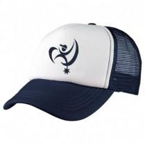 2-3XL Navy / White Trucker Cap - Branded with BAH Logo