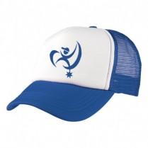 2-3XL Royal / White Trucker Cap - Branded with BAH Logo