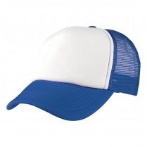 2-3XL Royal Blue / White Trucker Cap