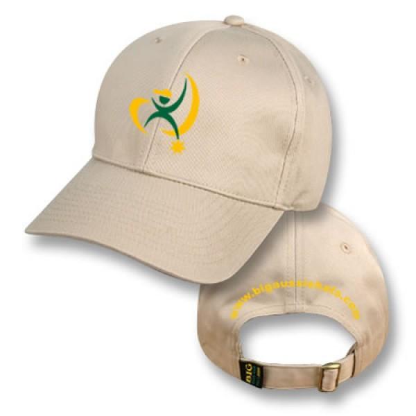 """""""Anzac Khaki"""" Baseball Cap (Branded)"""
