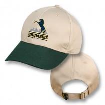 Natural/Green Baseball Cap with Brumbies Logo
