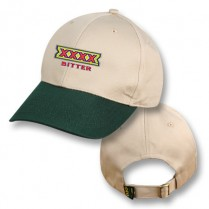 Khaki / Green Baseball Cap with XXXX Bitter Logo