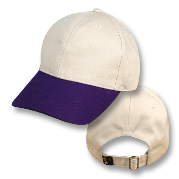"""Nimbin Natural / Jacaranda Purple"" Visor Baseball Cap"