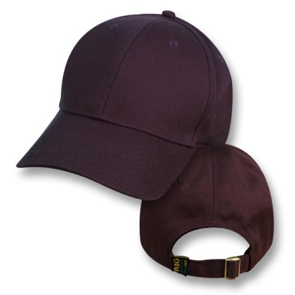 """Bushfire Black"" Baseball Cap (Plain)"