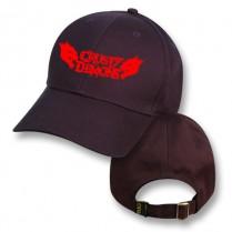 """Bushfire Black"" Baseball Cap with Crusty Demons Logo"
