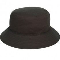 """Bushfire Black"" Bucket Hat (Plain)"