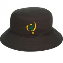 """Bushfire Black"" Bucket Hat (Branded)"