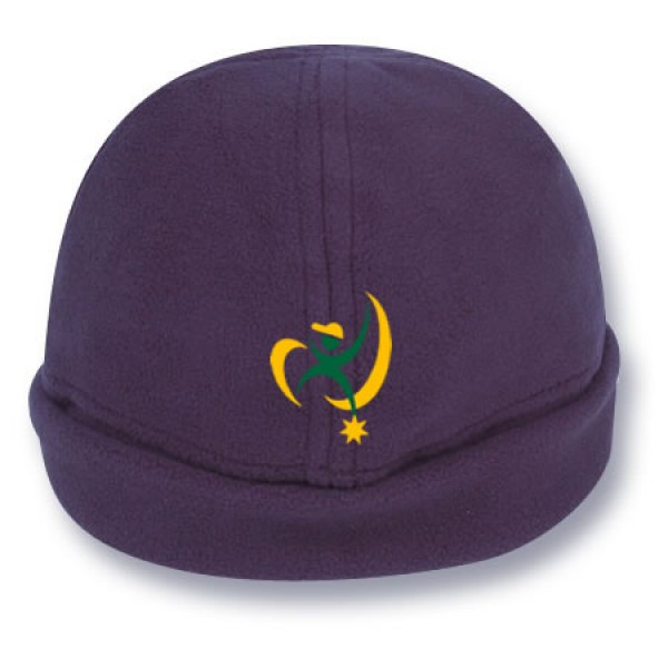 """Nowra Navy"" Fleece Beanie (Branded)"