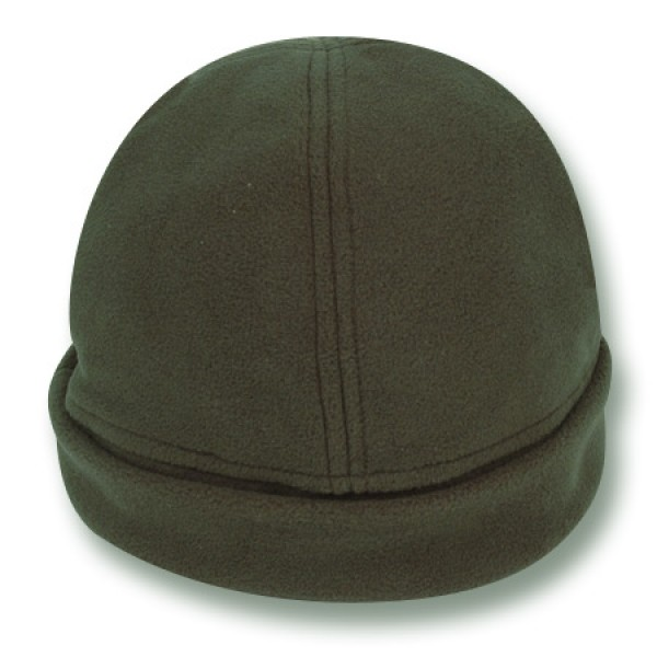 """Daintree Green"" Fleece Beanie (Plain)"