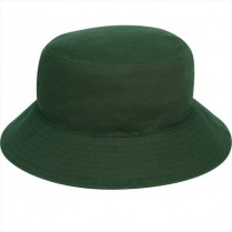 """Daintree Green"" Bucket Hat (Plain)"