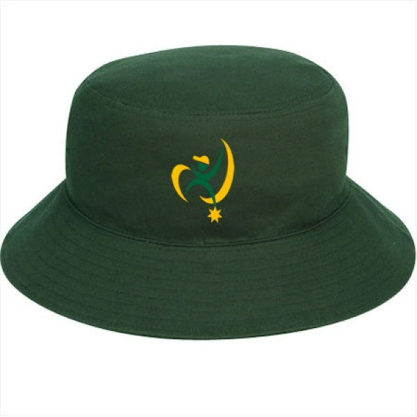 """Daintree Green"" Bucket Hat (Branded)"