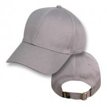 """Koala Grey"" Baseball Cap (Plain)"