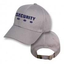 Grey Baseball Cap with Security Logo