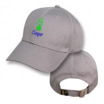 Grey Baseball Cap with Cougar Logo