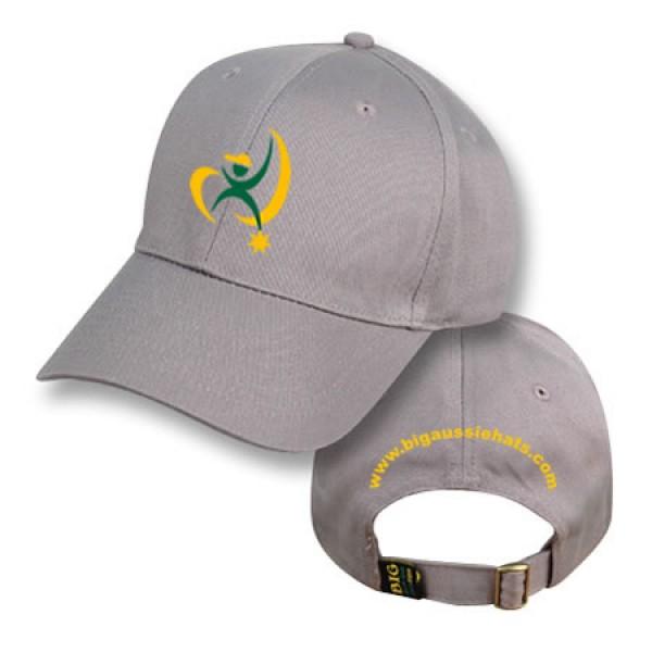 """Koala Grey"" Baseball Cap (Branded)"