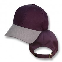 """""""Nowra Navy / Koala Grey"""" Visor Baseball Cap (Plain)"""