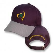 """""""Nowra Navy / Koala Grey"""" Visor Baseball Cap (Branded)"""