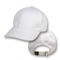 """Whitsunday White"" Baseball Cap (Plain)"