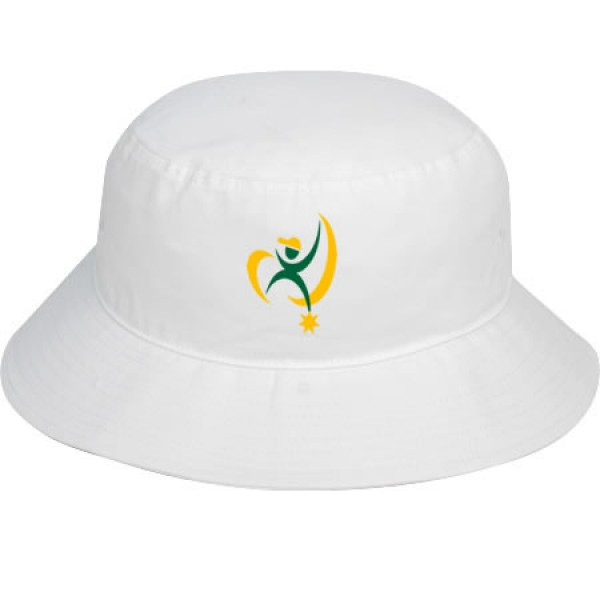 """Whitsunday White"" Bucket Hat (Branded)"